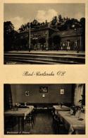 Bad Carlsruhe Bahnhof ...nette Alte Karte   (k6791  )  Siehe Bild - Pologne