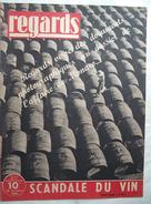 REGARDS :1946 : CONTREBANDE DU VIN . CIRQUE . CHANTILLY . ACTUALITES .. Etc  .. - Kranten