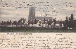Environs De Blankenberghe - Lisewege (colorisée, 1901) - Blankenberge