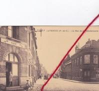 CP 62  -  LAVENTIE  - La Rue De La Gendarmerie  -   CAFE - Laventie