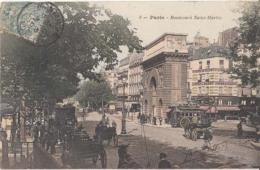 Dep  75 - Paris  - Boulevard Saint Martin - Carte à 0.90 Euro  : Achat Immédiat - Francia