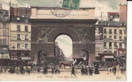 Dep  75 - Paris - Porte Saint Martin   - Carte à 0.90 Euro  : Achat Immédiat - Autres