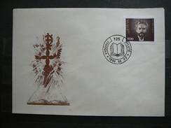 Famous People Cultural Personalities Lietuva Litauen Lituanie Litouwen Lithuania 1993 FDC # Mi. 524
