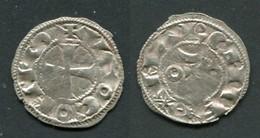 COMTE DE LA MARCHE - HUGUES IX 1199-1219 - DENIER - BELLAC - 476-1789 Period: Feudal