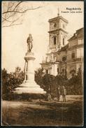 Nagykaroly, Kossuth Lajos Szobor, 1916,  Carei, Satu Mare,Kirche - Romania