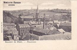 Dison (Souvenir De) - Panorama (Biscuits Parein, Anvers, Vanderauwera) - Dison