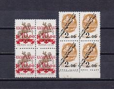 Kazakhstan Mint (**) 1993 Set Stamp Middle Asia OVERPRINT