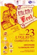 CARTOLINA  Pubblicitaria - MEDIE EVAL MUSIC FESTIVAL  - Giarratana  (RG)  Sabato 23 Luglio 2016, - Europe