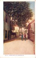 A Narrow Street In St Saint Augustine - St Augustine