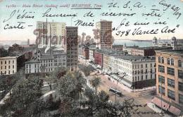 Main Street Looking South - Memphis1909 - Memphis
