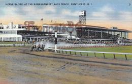 Horse Racing At The Narragansett Race Track - Pawtucket - Pawtucket