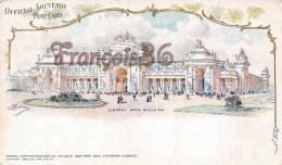 Official Souvenir Post Card - Liberal Arts Building - Lithographie -Samuel Cupples - St Saint Louis Missouri - St Louis – Missouri