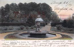 Lafayette Park - Norfolk 1906 Fontaine Fountain - Norfolk