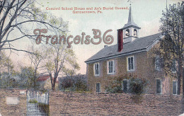 Concord School House And Ax's Burial Ground - Germantown - Etats-Unis