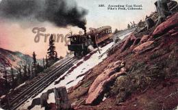 Ascending Cog Road - Pike's Peak - Etats-Unis