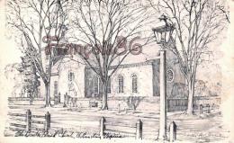Bruton Parish Church - Williamsburg - Illustrateur Ill. Charles Overly - Autres