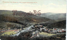 Phoenicia From Reservoir Hill - Catskill Mountains - Catskills