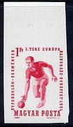 HUNGARY 1964 European Bowling Championship Imperforate  MNH / **.  Michel 2041B