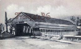 Old Covered Bridge - Woodstock - Etats-Unis