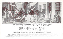 The Pioneer Grill - George Washington Hotel - Arrival Of Henry Clay - Etats-Unis