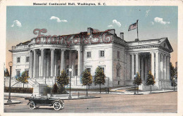 Memorial Continental Hall - Washington D C 1919 - Washington DC