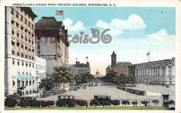 Pennsylvania Avenue From Treasury Building - Washington D C - Washington DC