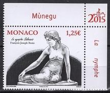 MONACO 2015  N° 2973 - LE NU DANS L´ART : LA NYMPHE SALMACIS- NEUF ** /G22 - Monaco
