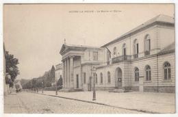 92 - BOURG-LA-REINE - La Mairie Et L'Eglise - Bourg La Reine