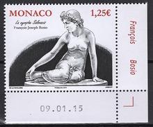 MONACO 2015  N° 2973 - LE NU DANS L´ART : LA NYMPHE SALMACIS- NEUF ** - Monaco