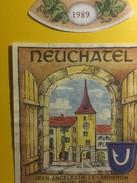 3790 -  Neuchâtel 1989 Jean Angelrath Le Landeron Suisse - Rouges