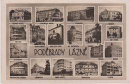 CPSM 9X14  . POLOGNE . PODEBRADY LAZNE ( Multi-vues) - Pologne