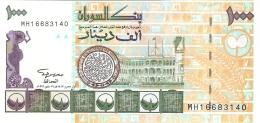 SOUDAN   1000 Dinars   1996   Sign.11   P. 59a   UNC - Soudan