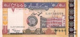 SOUDAN   2000 Dinars   2002   P. 62a   SUP - Soudan