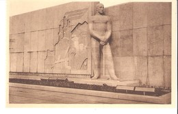 Liège-Mémorial Du Roi Albert-Bas Relief Représentant La Ville De Liège-Sculpteur: Dupont-1939 - Liege