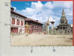 CARTOLINA NV NEPAL - Bhaktapur Durbar Square - 10 X 15 - Nepal