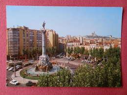 Dep 13 , Cpm MARSEILLE , 1.021 , Fontaine Cantini Et Place Castellane (177) - Castellane, Prado, Menpenti, Rouet