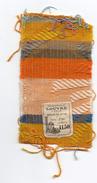 Echantillon Tissu .  Magasins Du Louvre . Paris . Mode . - Laces & Cloth