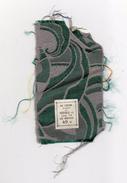 Echantillon Tissu .  Magasins Au Louvre . Paris . Mode . - Laces & Cloth