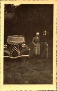Automobile, Traction Citroen, Lot De 2 Photos   (bon Etat)  Imatriculation Dans Le 78. - Automobili