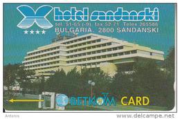 BULGARIA(GPT) - Hotel Mandraki, CN : 40BULH(type 4), Tirage 14000, 07/96, Used