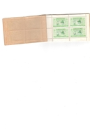Carnet De 2 Fr  40 Timbres 5 Cts Colonie De La Mauritanie Postes Et Télégraphes Timbres Top + Gomme 100% - Mauritanie (1906-1944)