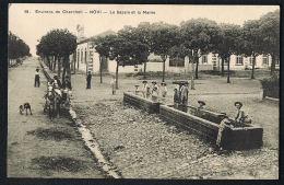 NOVI -CPA ALGERIE-Environs De CHERCHELL - Le Bassin Et La Mairie -  écrite Au Verso 1917 Recto Verso  Paypal Sans Frais - Algeria