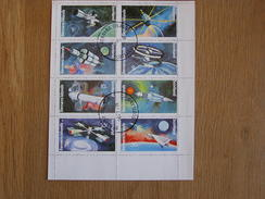 BERNERA ISLANDS Espace Space Astronautique Engin Spatial Sheet Stamp Bloc Timbres - Blocs-feuillets