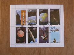 STATE OF OMAN Espace Space Astronautique Engin Spatial Lune Sheet Stamp Bloc Timbres - Autres - Afrique
