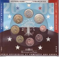 BU France 2008 Coffret Neuf 8 Pièces - Francia