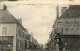 HENRICHEMONT - 18 - Rue Victor Hugo -epicerie Parisienne Felix Potin - Cafe - 73510 - Henrichemont