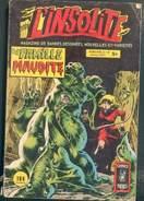 L'INSOLITE N°20 LA FAMILLE MAUDITE  COMICS POCKET ARTIMA 1981 TB - Insolite, L'