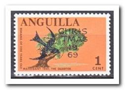 Anguilla 1967, Postfris MNH, Trees - Anguilla (1968-...)