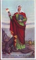 S. Martha,  Santino  EB  2/188  Con Preghiera