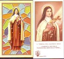 2 S. Teresa Del Bambino Gesù, 2  Santini  Con Preghiera
